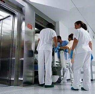 больничный лифт, лифт в больницу, медицинский лифт