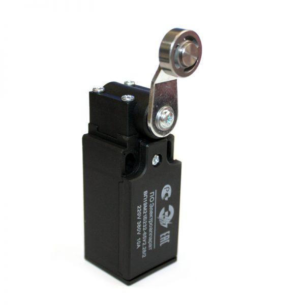 Выключатель путевой ВП19М-21Б-232-65 У2.28/2 Рычаг с роликом